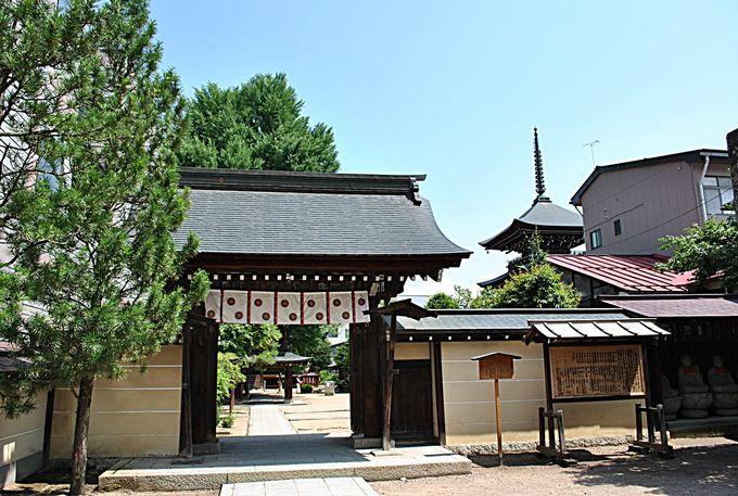 飛騨地方唯一の三重塔がある「飛騨国分寺」
