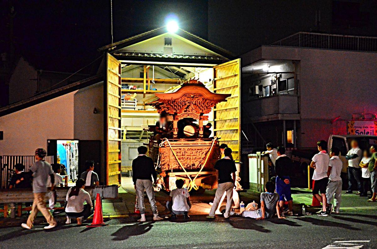 岸和田だんじり祭の準備に心高まる
