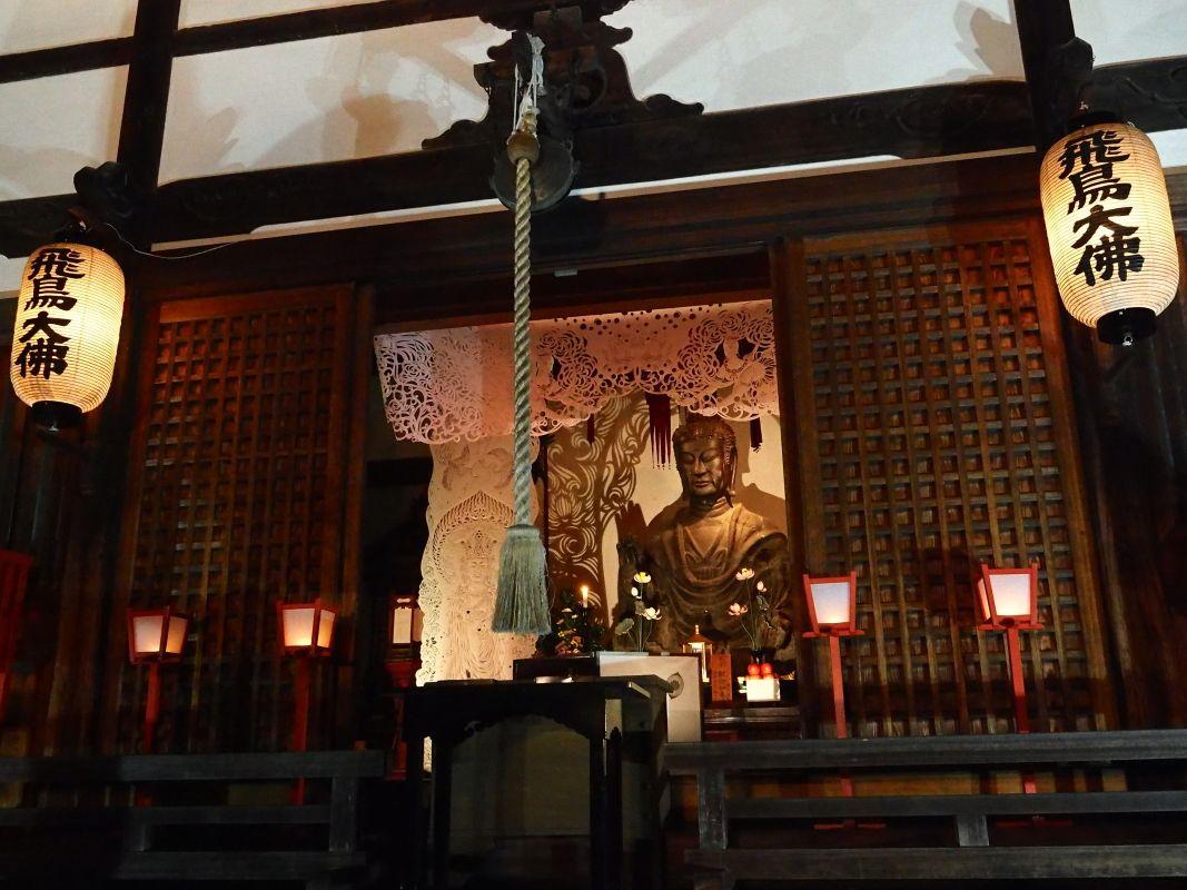 日本最古の仏像「飛鳥大仏」とあすか劇団「時空」のコラボも
