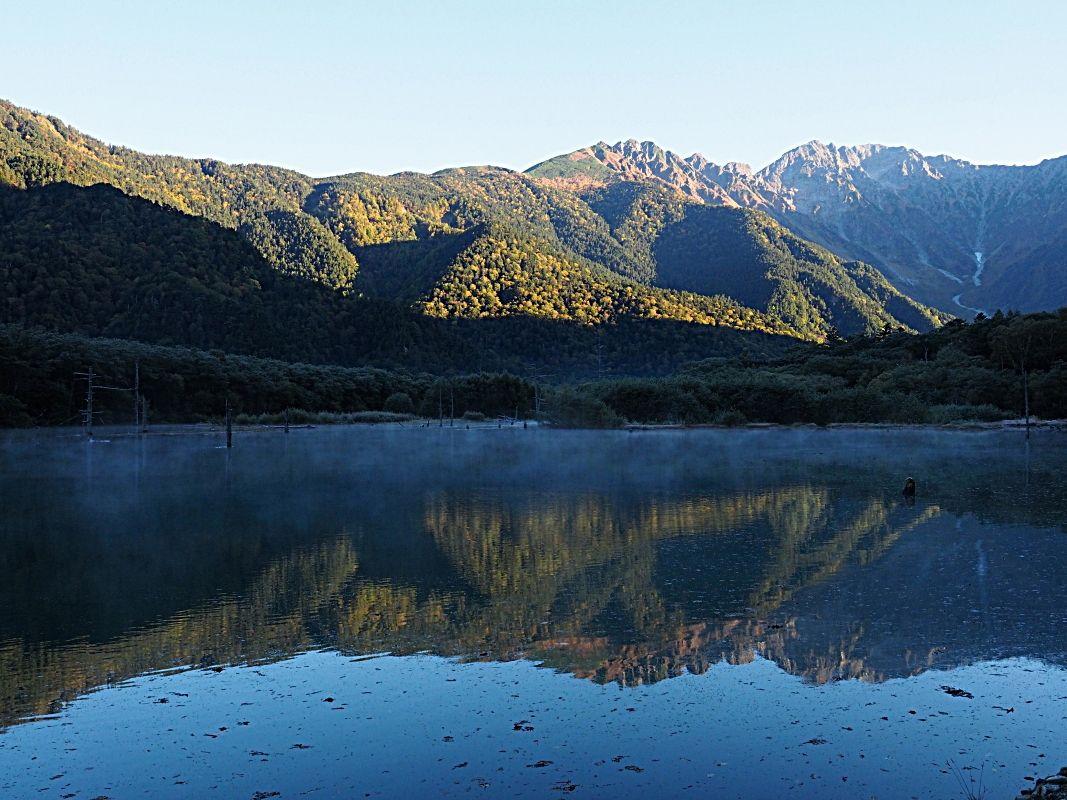 大正池までの早朝ウォーキングに出かけよう!