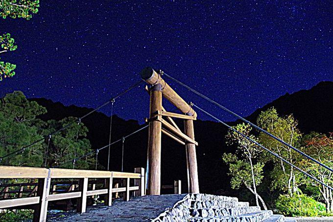 上高地の星空はまるで大自然のプラネタリウム