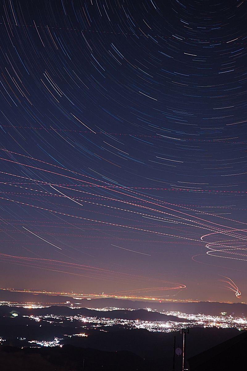 夜景と星空鑑賞もおすすめ