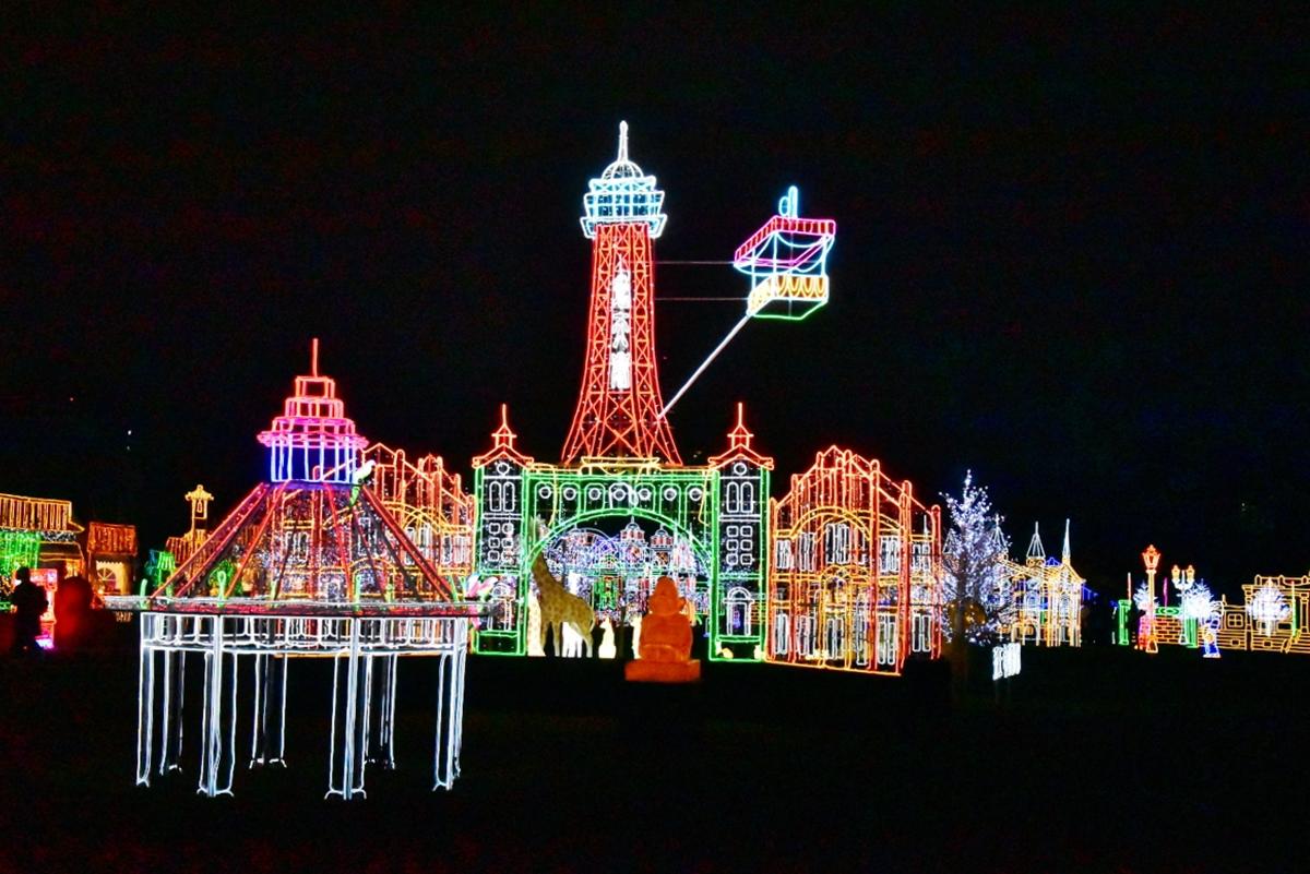 勝尾寺の「勝ちダルマ」が巨大バルーンとなって新登場