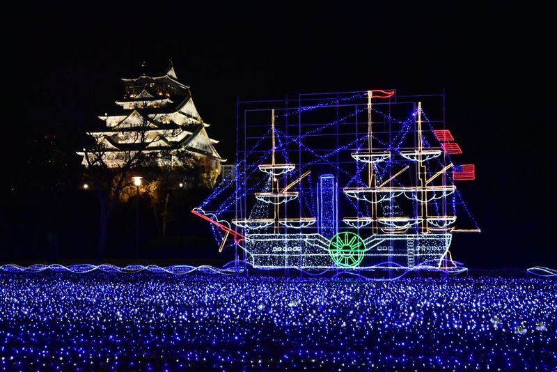 光の歴史絵巻も「大阪城イルミナージュ」は幕末・維新・文明開化!