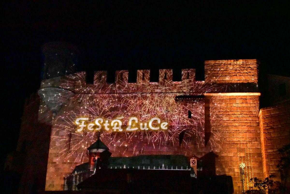 「フェスタ・ルーチェ in 和歌山マリーナシティ」でクリスマスイルミを!