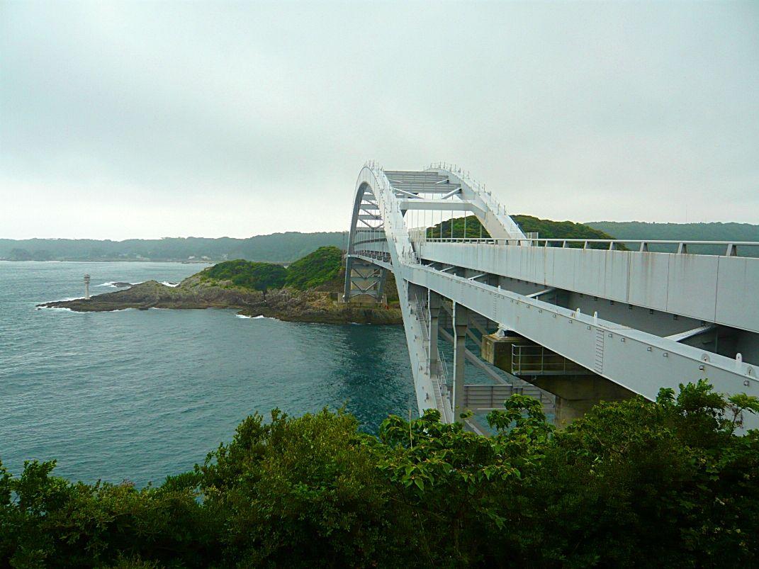 紀伊大島へのアクセス「くしもと大橋」とは