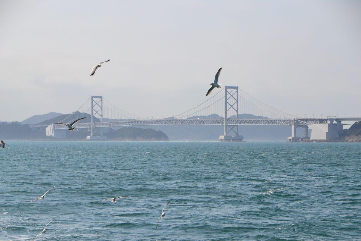 鳴門海峡のもうひとつの主役「大鳴門橋」