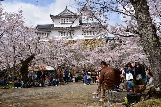 津山城跡のシンボル「備中櫓」は絶好のグルメスポット