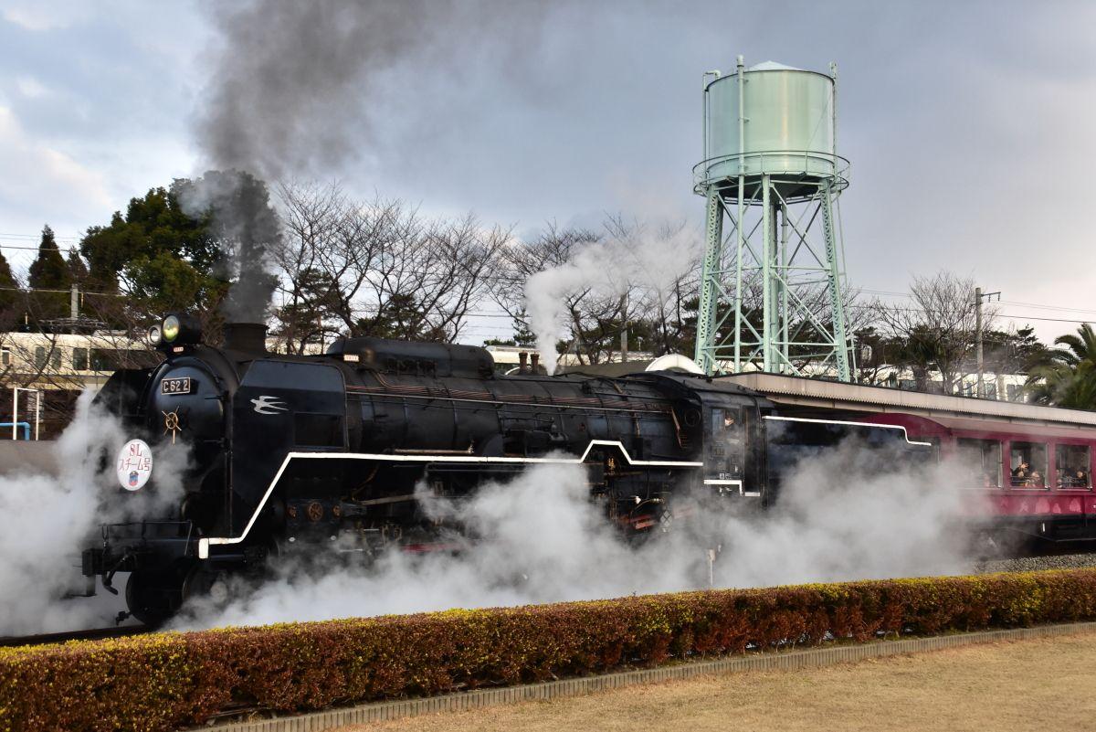 SLスチーム号で懐かしい汽車旅を