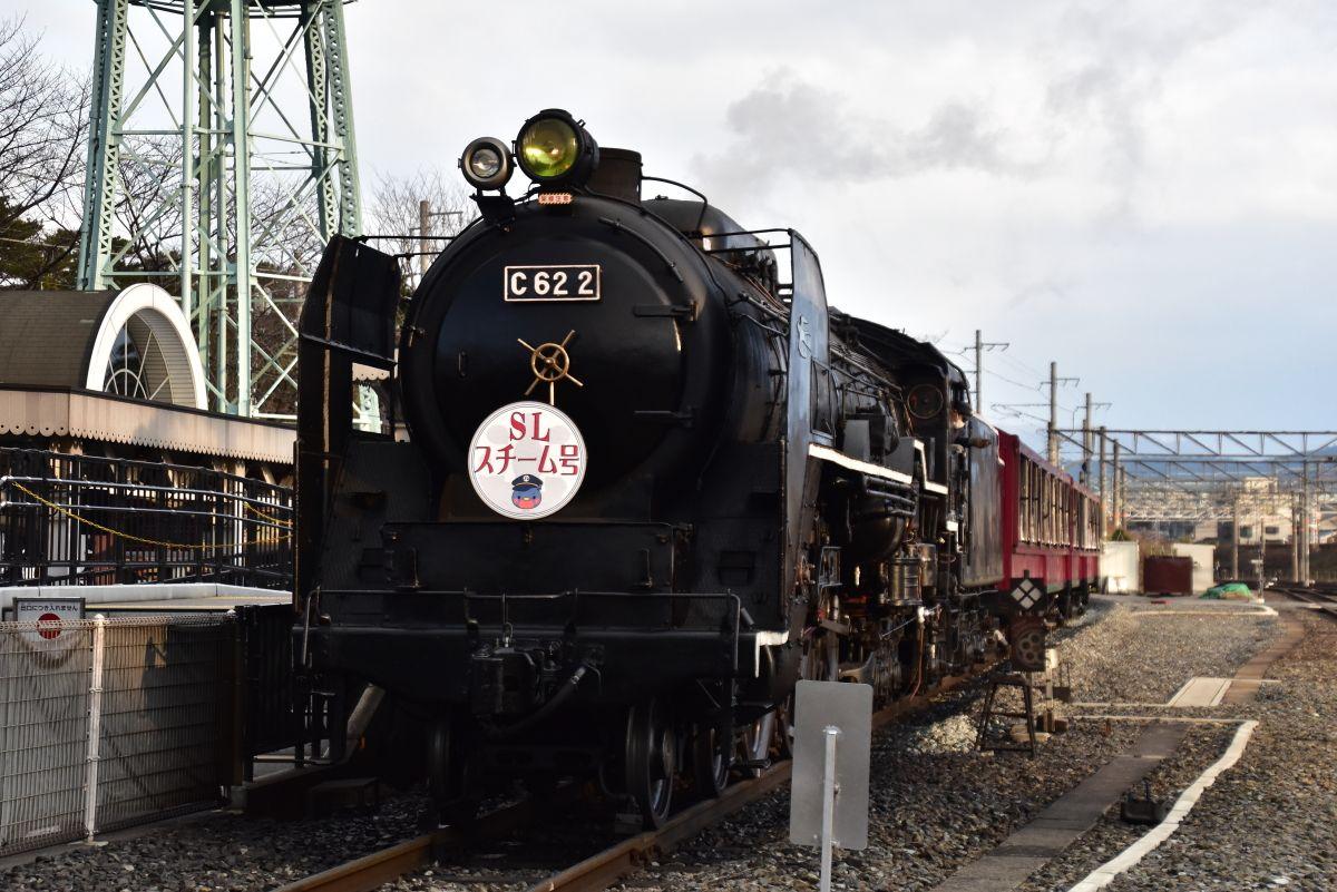 SLスチーム号で活躍する機関車たち