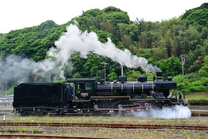 SL人吉の牽引機は、営業路線を走る日本で最古の蒸気機関車