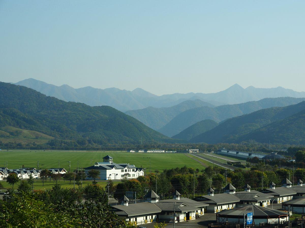 東京ドーム320個分の大きさを誇る「JRA日高育成牧場」