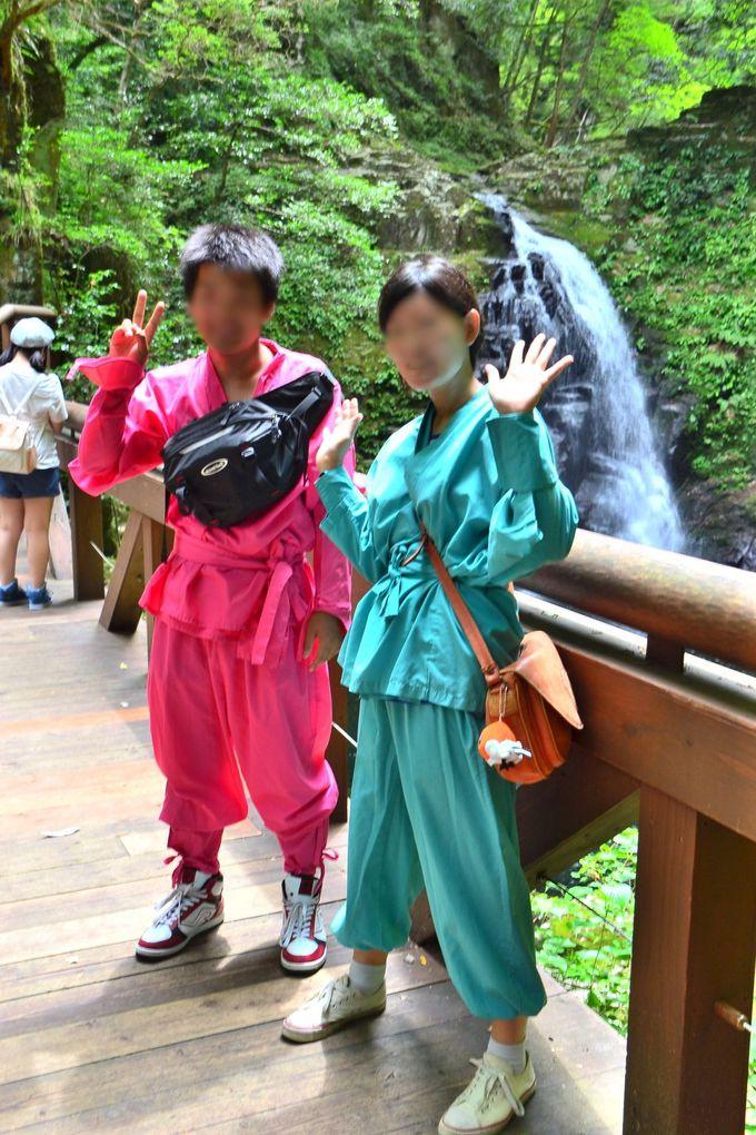 「忍者の森」で、忍者衣装をレンタルするのもおすすめ