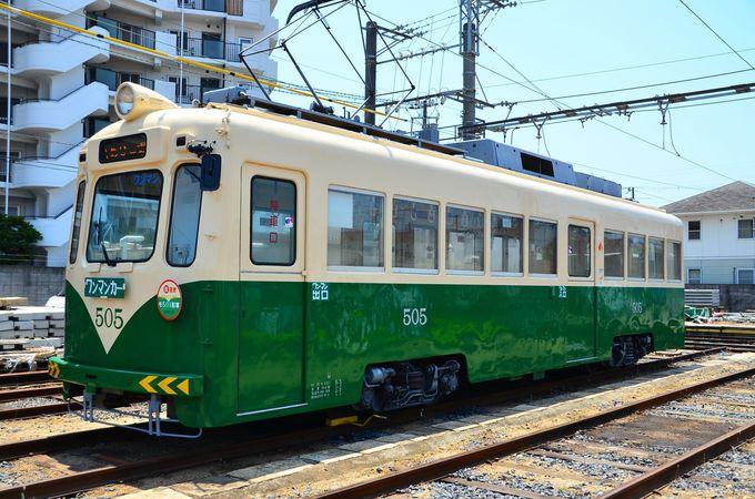 阪堺電気軌道のレトロ車両を楽しもう