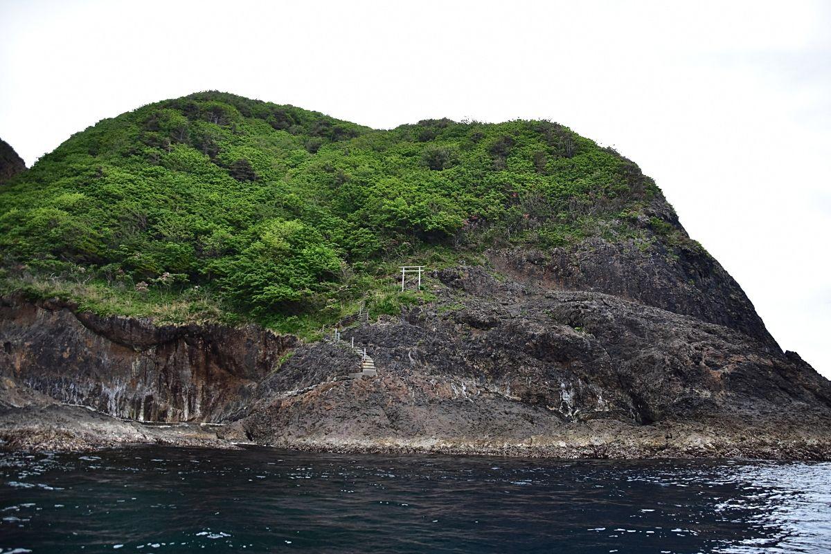 かつての集落跡「ツヅラ沢」