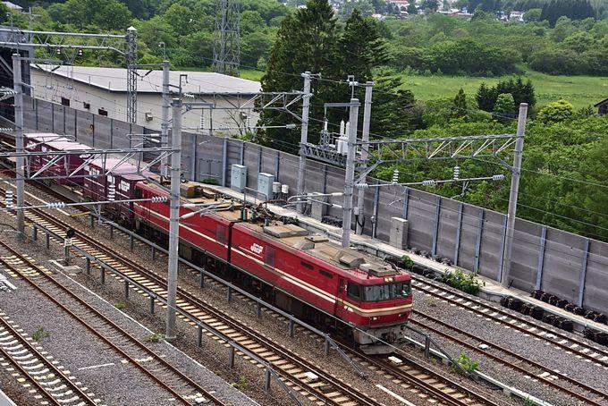 国内最長運行を誇る貨物列車も