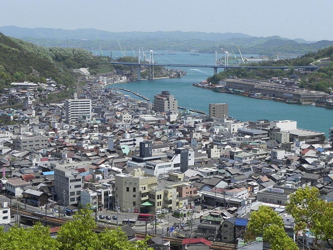 2日目午後:しまなみ海道のフィナーレ広島県尾道市「千光寺公園」を目指そう