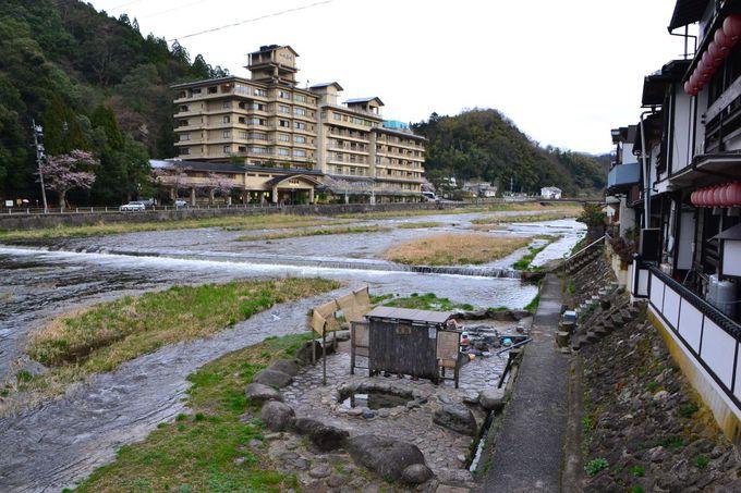 三朝温泉の老舗温泉旅館の宿泊と温泉街の散策を満喫しよう