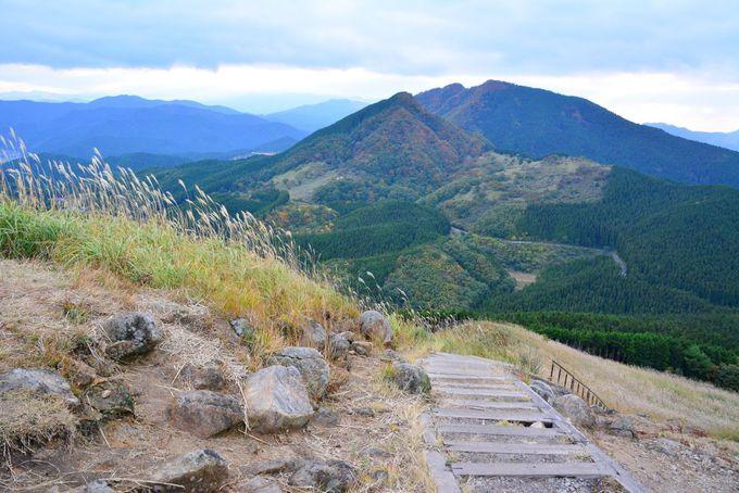 亀山からの景色は雄大