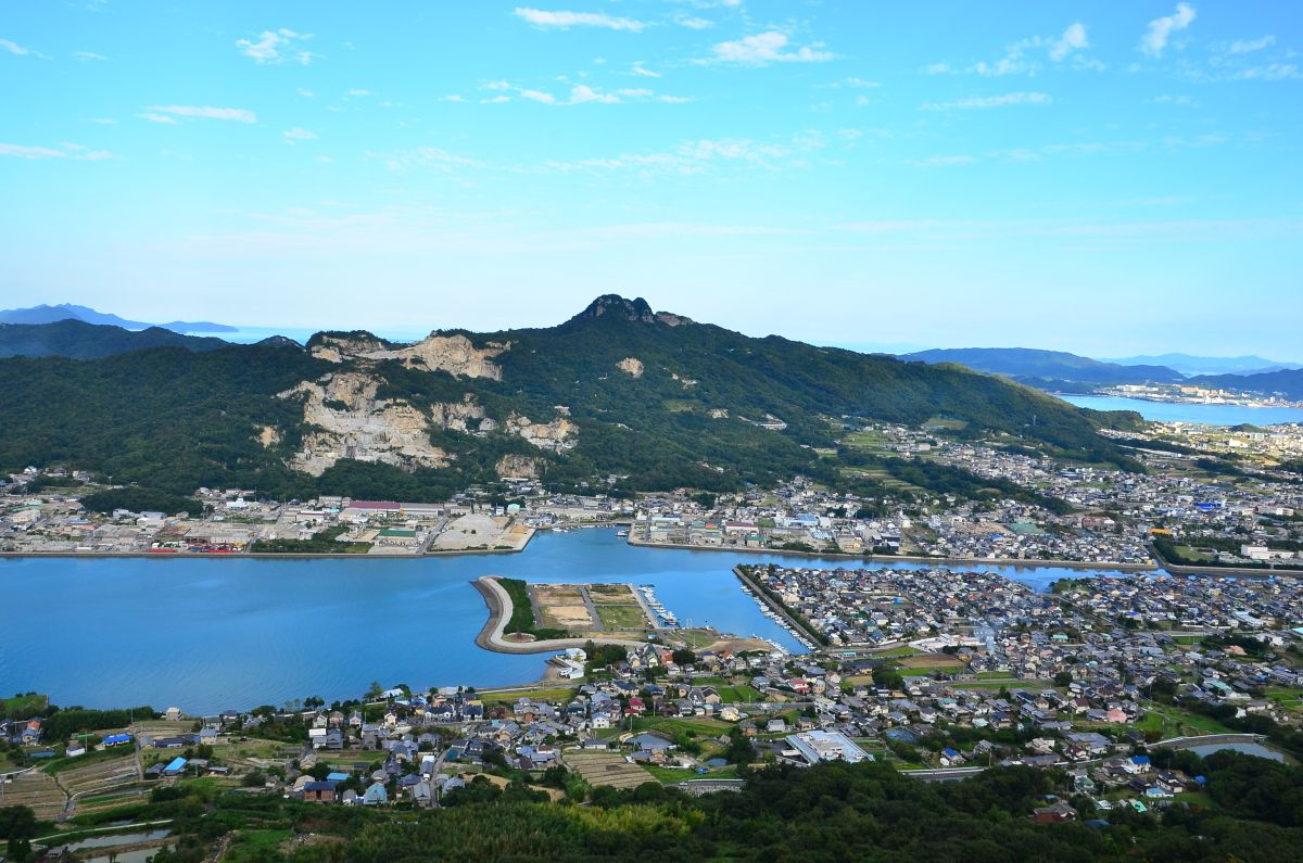 屋島談古嶺展望台から源平合戦に思いを馳せる