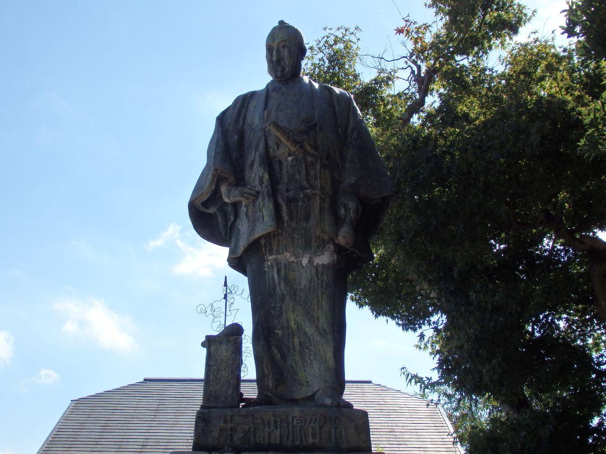 志度は江戸時代に活躍した平賀源内の生誕地