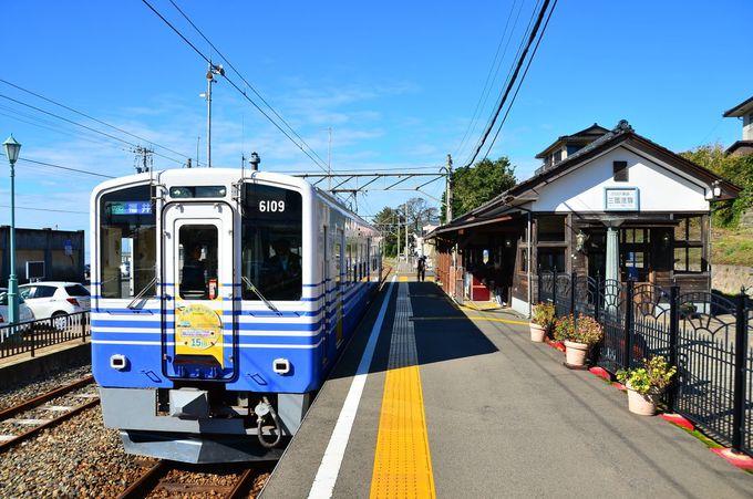 終着駅らしい雰囲気にあふれる三国港駅