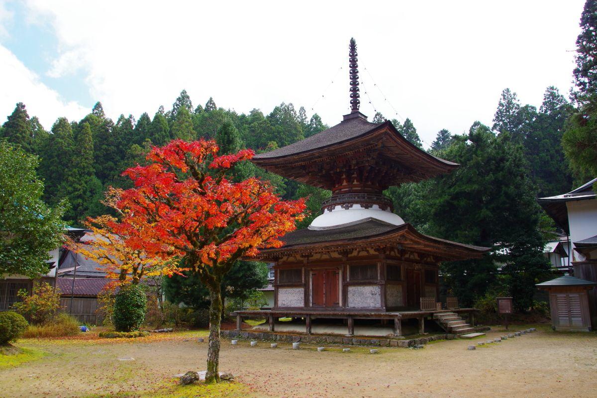国宝・世界文化遺産の多宝塔