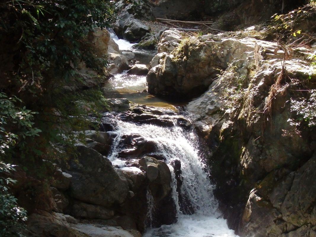 水間寺で一番のパワースポット「降臨の瀧」