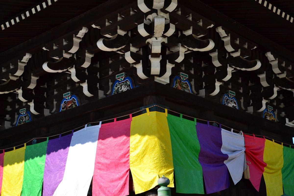 明治以前に建てられた大阪府内唯一の三重塔がある水間寺