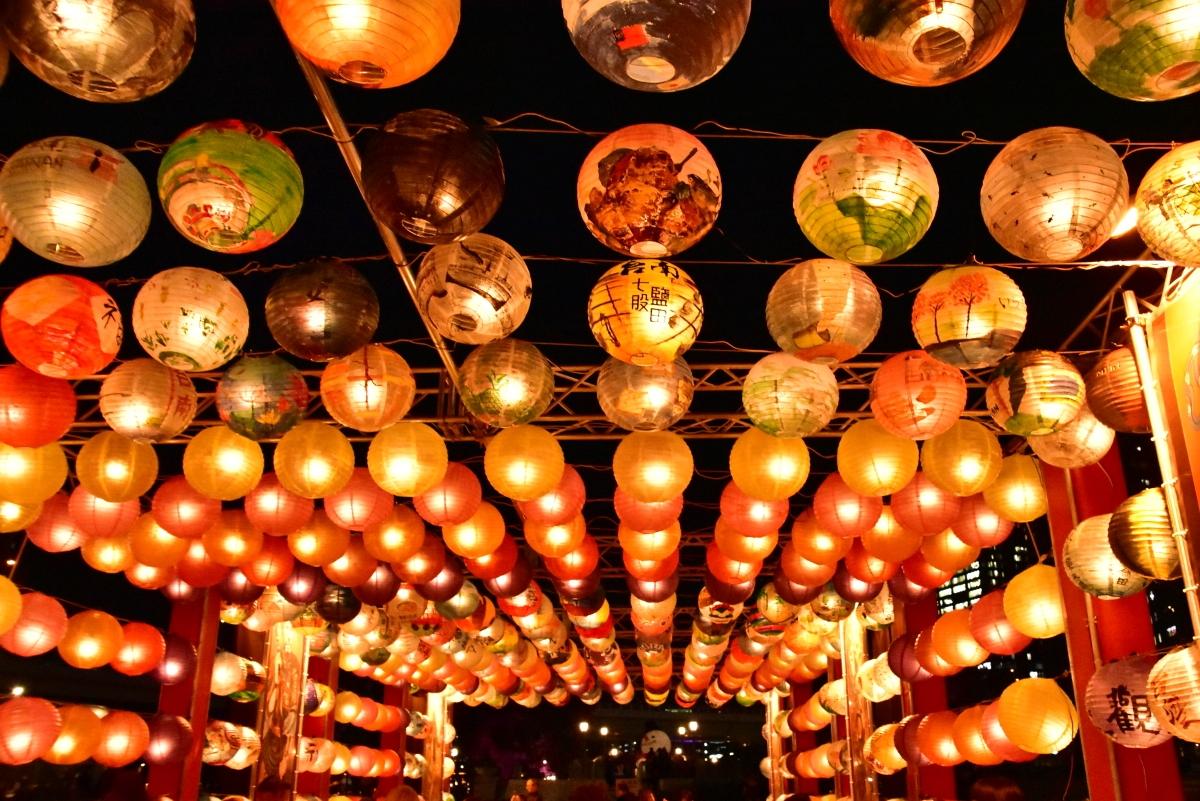 光の交流プログラム「台南・光の廟埕」が今回も開催