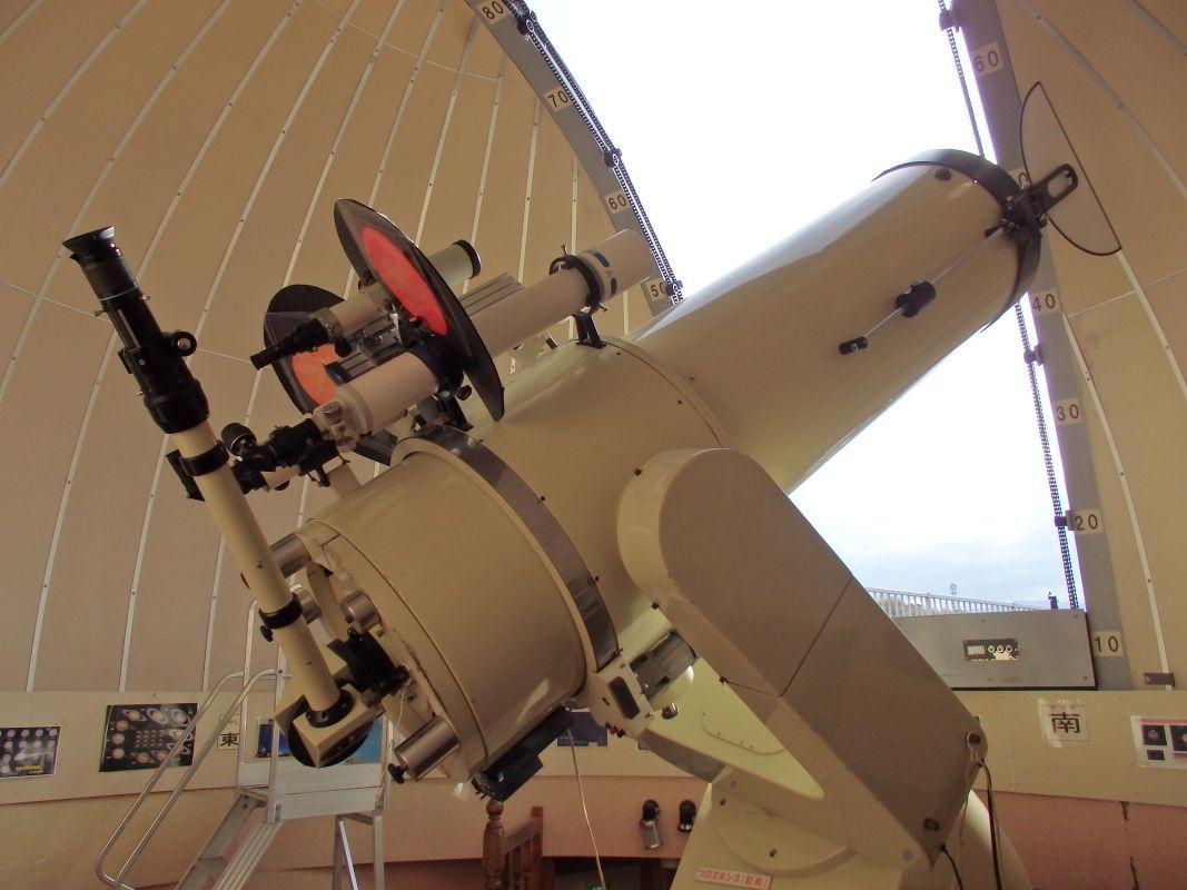 昼夜とも天体観測ができる「善兵衛ランド」