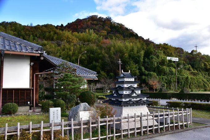 佐和山城跡へは彦根城と反対側の「東口コース」から