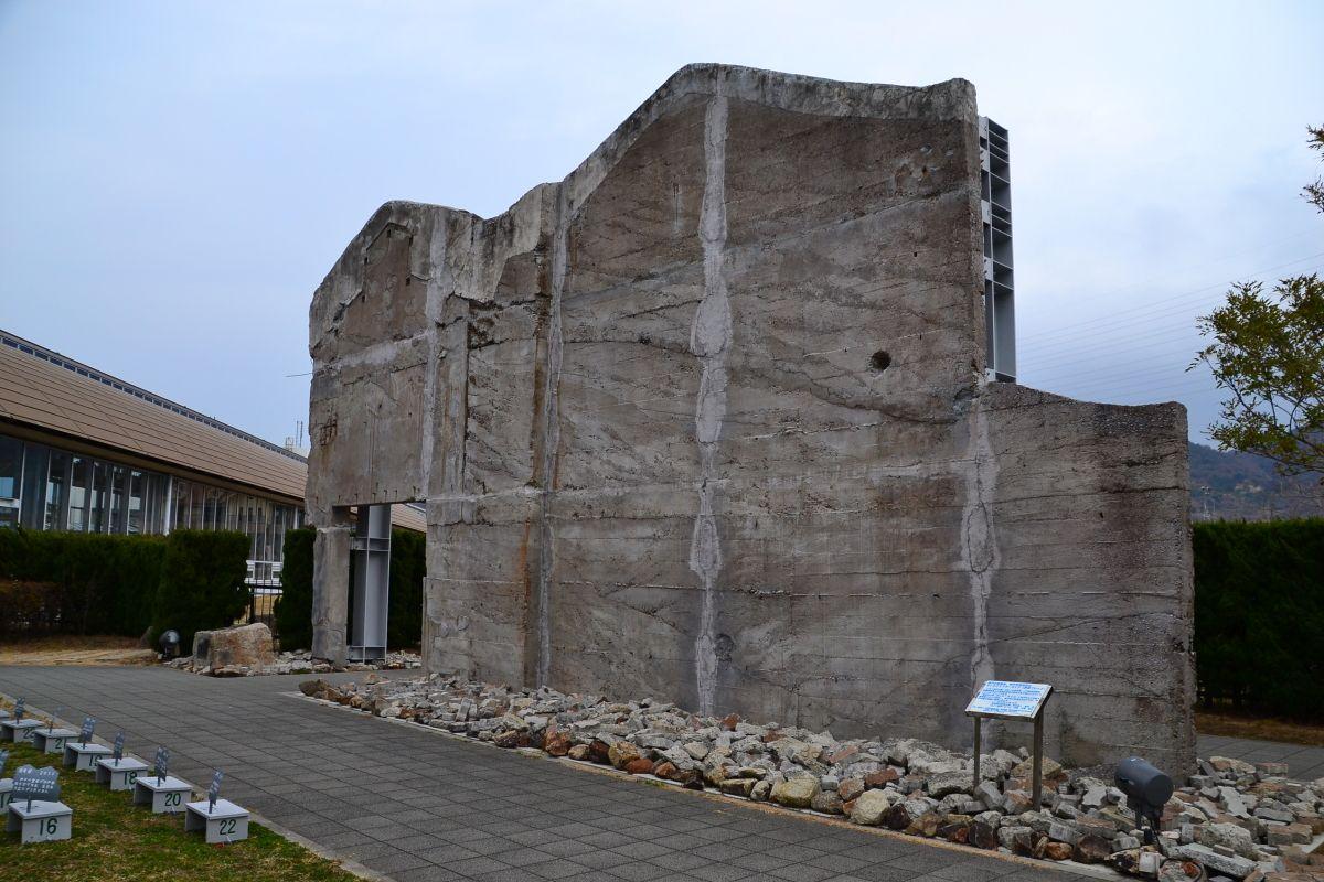 震度7の震災にも耐えた「メモリアルハウス」