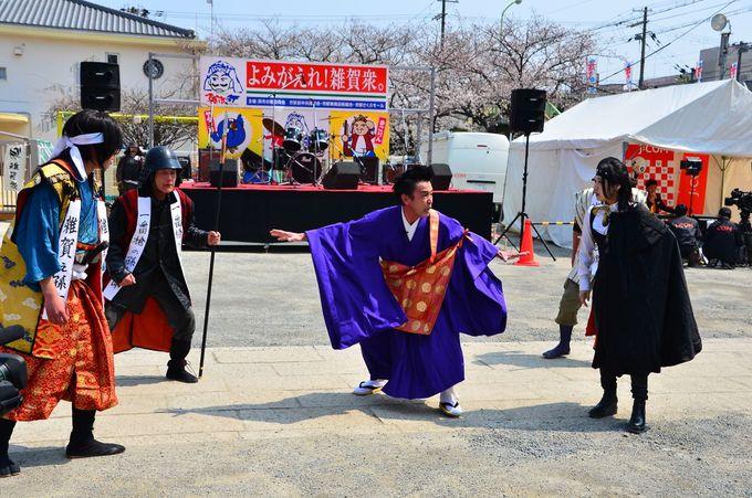 日本一の野外劇・鷺森別院で孫市と信長が激突!
