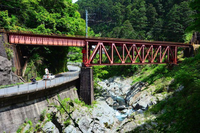 南海高野線の有名撮影スポット「丹生川橋梁」