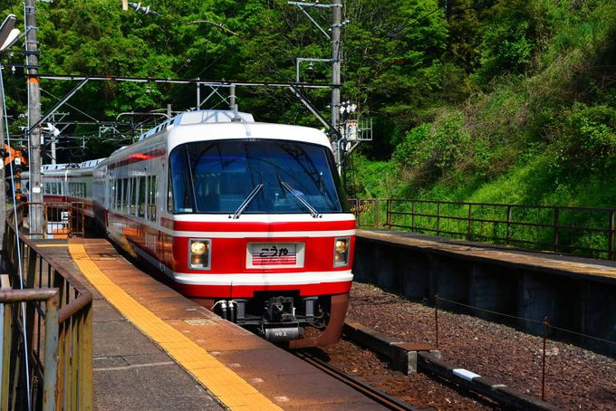山岳鉄道の雰囲気があふれる「下古沢駅」