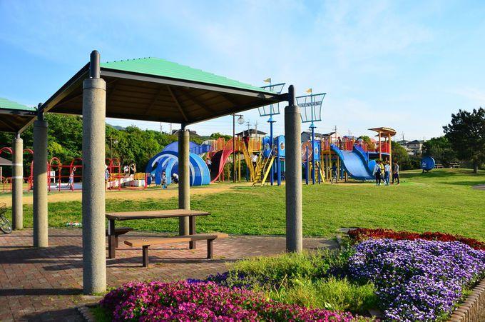 「イルカ遊園」と「タコ遊園」2つの大型遊戯場も楽しい