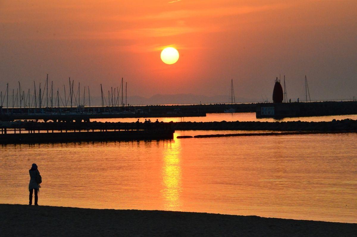大阪府「せんなん里海公園」で太陽と海の風景を満喫しよう!