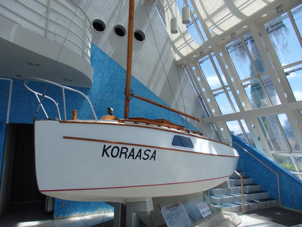 海の冒険の匂いを感じる「淡輪ヨットハーバー」