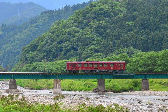 若桜鉄道おすすめの撮影スポットは