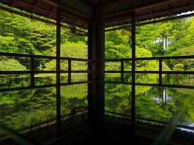滋賀県・坂本の元里坊「旧竹林院」でリフレクション撮影が楽しい