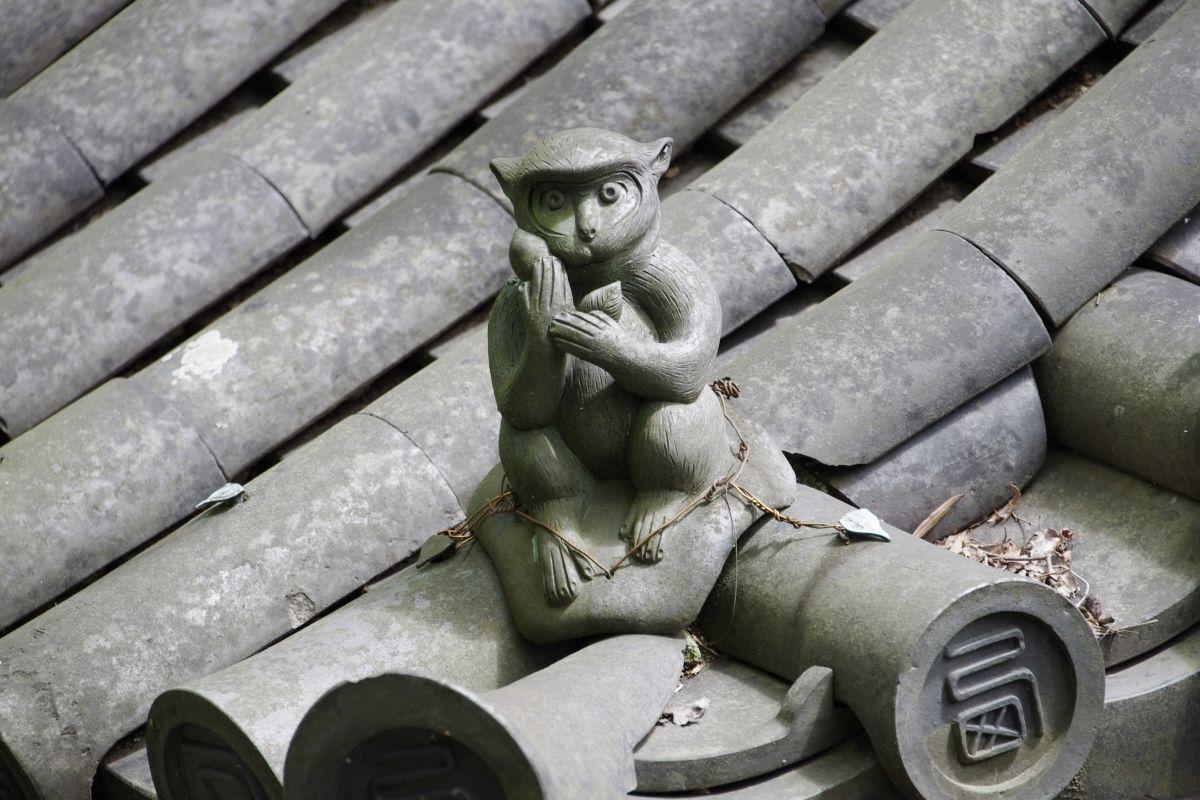 西教寺の法難を救った「護猿」