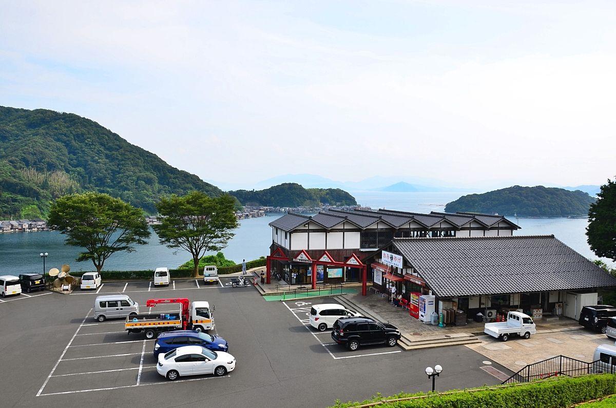 8.舟屋の里公園/伊根町