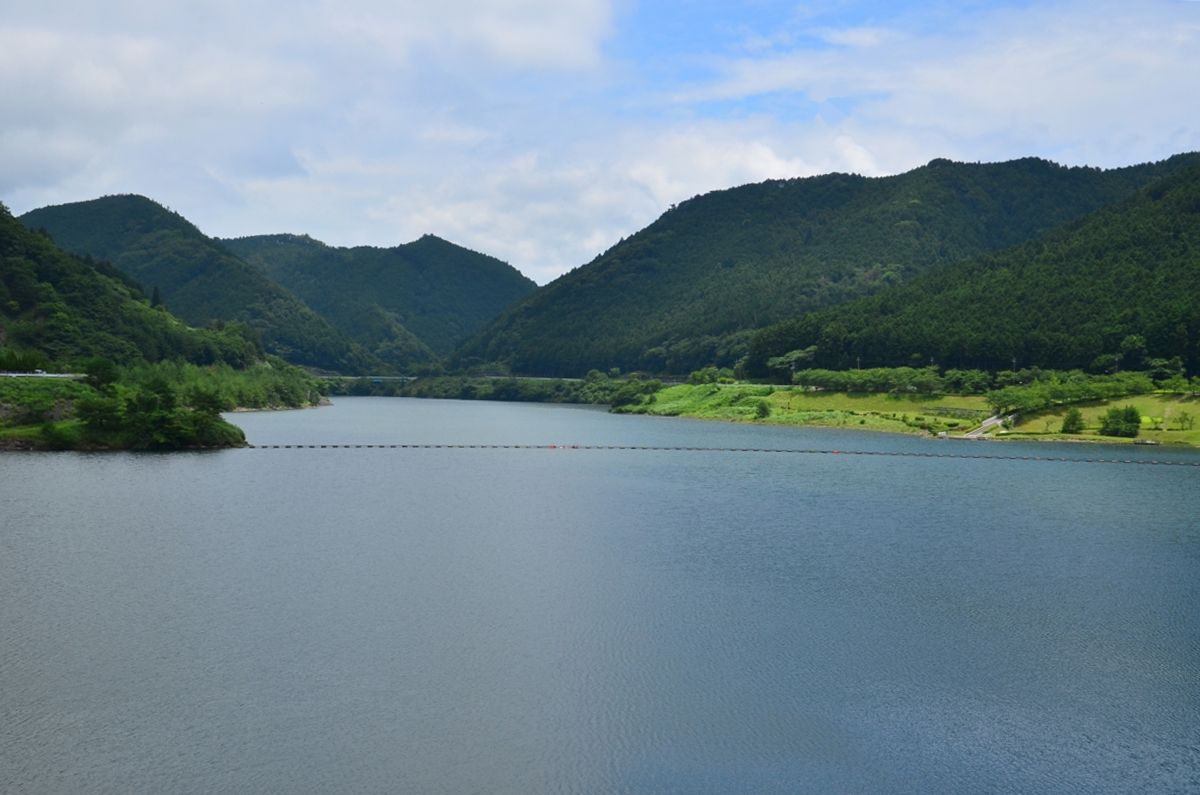 「青土ダム」は滋賀県初の多目的ダム