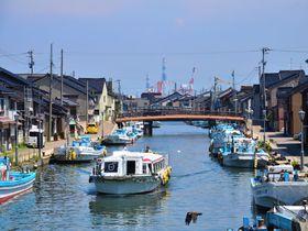 """富山""""日本のベニス""""新湊内川でレトロな港町散歩を楽しもう!"""
