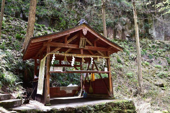 神聖な空気に包まれる「龍鎮神社」