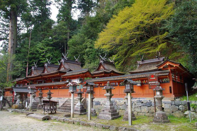 神代まで遡る古社「宇太水分神社」も訪れたい