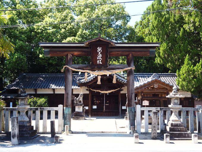 """飽波神社は""""なもで踊り""""で知られる雨乞いの神社"""