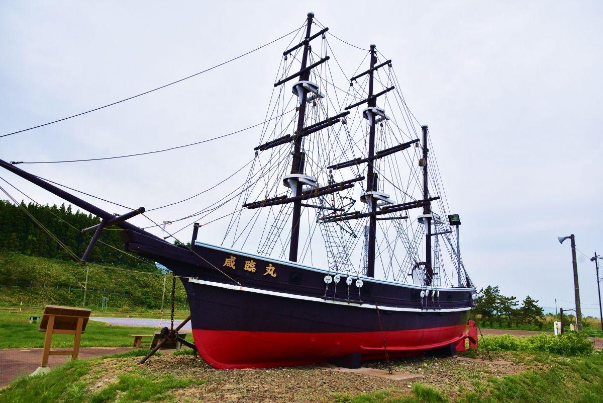 日本初の太平洋横断に成功した軍艦「咸臨丸」の栄光