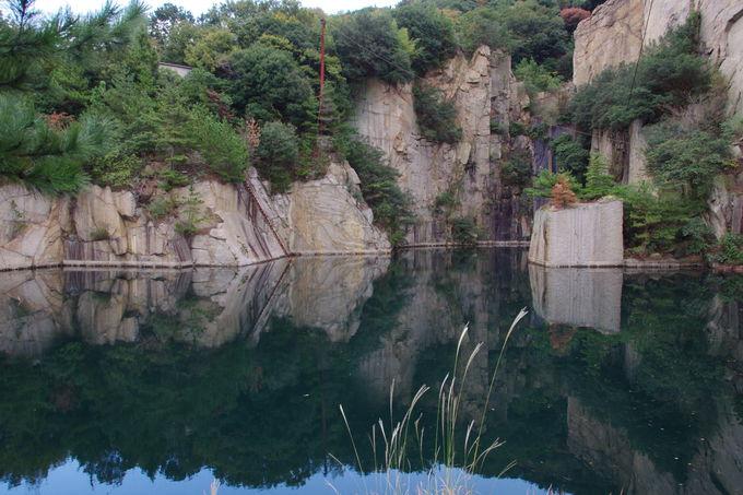 13:00〜14:00:「北木のベニス」と「北木の桂林」の景観
